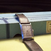 Unboxing a vintage Hamilton 982 Rutledge platinum from 1938