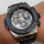 Newest to my collection – Hublot Big Bang Unico Perpetual Calendar Magic Gold