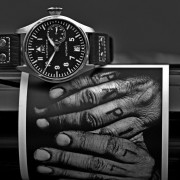 Two of my favorite things –  IWC Big Pilot 5002-03 & Orin Swift