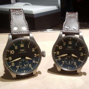 Twin pickups of the IWC Big Pilot's Heritage Watch 55