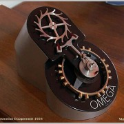 Video: Oversized Omega Escapement Demonstrator comes to life for the first time in 80 years