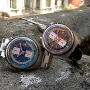 Vintage Breitling Bullheads ref. 2117 released in 1972 by WATCHFRED