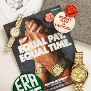 Reposting a vintage Bulova watch ad from 1972: Equal Pay. Equal Time.
