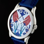 A privilege to shoot this Patek Philippe 5089G-024 Istanbul Tulips cloisonné enamel
