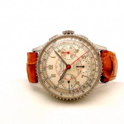 A rare as hen's teeth vintage Breitling Chronomat with Venus 178 in steel by WATCHFRED