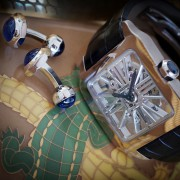 Cartier Santos Dumont Skeleton – Cartier built this skeleton caliber from scratch