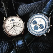 Dr. Strange and Blue Panda: Jaeger-LeCoultre Perpetual & Omega Speedmaster ck2998