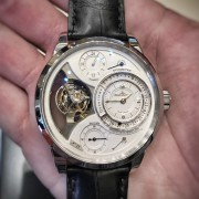 Attended the Watch Walk in NYC – Jaeger-LeCoultre Duometre Spherotourbillon