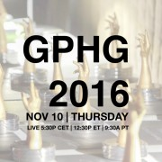 GPHG 2016 Live Streaming on TimeZone on Thursday, November 10