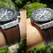 Hublot Big Bang Unico Ceramic Titanium: one Hublot 4 different cool looks