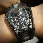 Trying out the Hublot MP-05 LaFerrari All Black HUB9005 905.ND.0000.RX