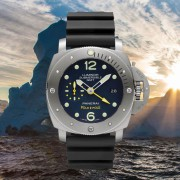 Introducing the Officine Panerai Luminor Submersible 1950 Pole2Pole for Mike Horn