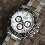 Finally, Rolex Ceramic Daytona  – I think this is the nicest steel modern Rolex ever made