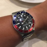 Grandpa's vintage Rolex GMT Master, gifted to him by his shipping company