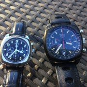 The old & new TAG Heuer Monza – old Cal.36 (El Primero) and the new Heuer Cal.17