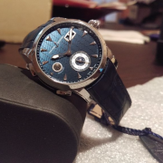 Unboxing: Ulysses Nardin Dual Time Manufacture LE Ref. No. 3343-126
