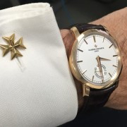 My Vacheron Constantin combo at work today: VC Patrimony & Maltese cross cufflinks