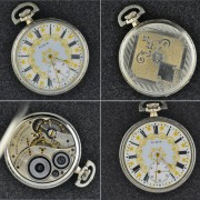 First watch for 2017 – 1922 Elgin Grade 384 Model 3, 12 size pocket watch