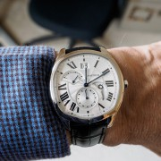 Drive, he said… Drive de Cartier Small Complications, that is