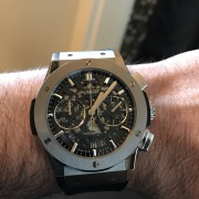 I just bought my second Hublot – Aerofusion