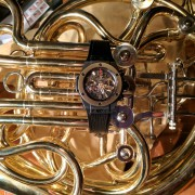 My 2 most prized possessions: Hublot Big Bang Unico Chronograph & French horn