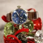 Holiday cheer with an IWC Big Pilot Annual Calendar Edition Le Petit Prince