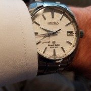 My signature pickup was the Grand Seiko SBGA011 Snowflake – Spring Drive accuracy?