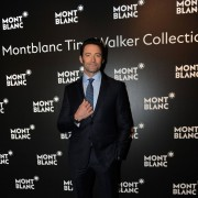X-Men Spotting: Hugh Jackman attends SIHH 2017 wearing Montblanc