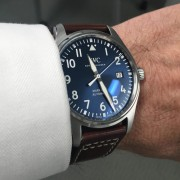 Tried this IWC Mark XVIII Le Petit Prince on in an Airport while traveling over the holidays