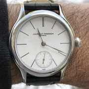 A new year, and a watch from Laurent Ferrier – Galet Micro Rotor in Steel