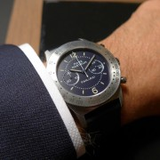 LIVE Photos: It is finally here, an identical re-edition of the Panerai 1993 Pre-V Mare Nostrum
