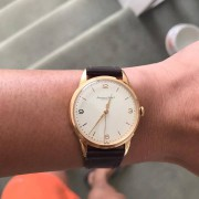 Vintage IWC Cal 89 in rose gold recent acquisition