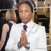 Watch Spotting: Pharrell & his Richard Mille RM031 at the 2017 Golden Globes