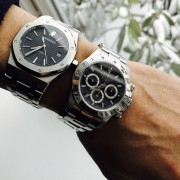 AP bug hit hard and quick: Audemars Piguet Royal Oak 15300 x Rolex Daytona 16520