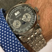 OK, I took the plunge: A. Lange & Söhne Datograph Perpetual WG on the bracelet