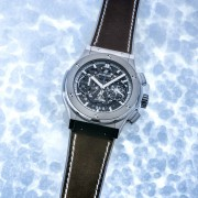 "Hublot presents a sled dog race, a Classic Fusion ""La Grande Odyssey"" watch & figure skater"