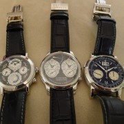Black beauties: Jules Audemars Metropolis Perpetual Calendar, FP Journe Resonance & Lange Datograph