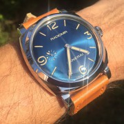 "Something new ""blue"" into town – Panerai Blue Radiomir 1940 PAM690"