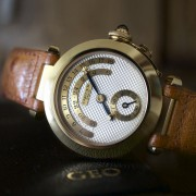 Sunday morning picture of a Cartier Pasha Day & Night