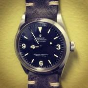 My new daily watch – vintage Rolex Explorer 1016