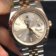 Quick look at a Rolex DateJust 41 Two-Tone Steel/Everose Gold with Jubilee