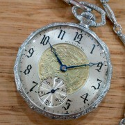 Goin' up around the Bend – South Bend Grade 439 pocket watch, produced in 1928