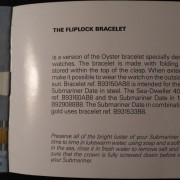Vintage Rolex Fliplock bracelet –  the official instructions on how to clean it