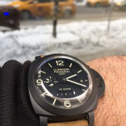 Panerai 1950 10 Days Luminor GMT PAM533 & the Snow in New York