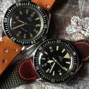 Some vintage Omega Seamasters – from the first Omega Seamaster ref 2913 to the Seamaster 300