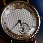 Just got this  Breguet 7147 – Ultra thin automatic movement & stunning guilloche dial