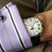 Cartier's new Drive de Cartier Moon Phases, or small Complications?