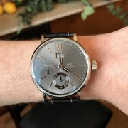 I'm happy to add this IWC Portofino Big Date in white gold to my collection