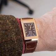 Hot chocolate! On a cold day – Jaeger-LeCoultre Grande Reverso Ultra Thin Chocolate