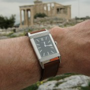 In Greece with a Jaeger-LeCoultre Tribute to 1931 & Casa-Fagliano strap